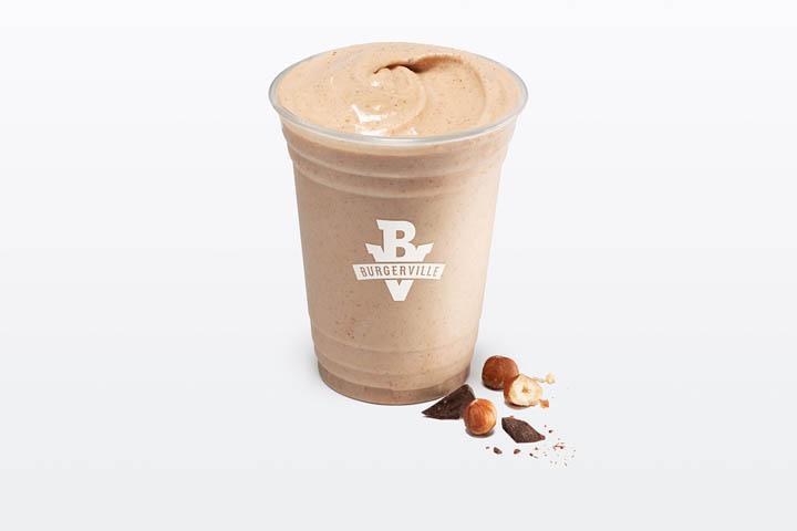 hazelnut chocolate shake